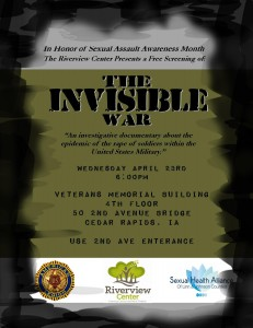 Invisible War screening